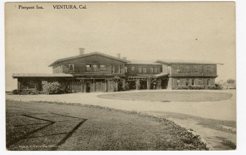 Pierpont Inn, Ventura, Cal. Post Card