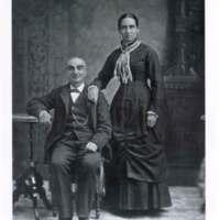 Victor Ustasaustagui and Maria del Espíritu Ortega