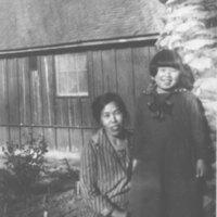 Mrs. Inadomi and Daughter, Midori