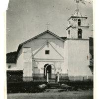 Old Buenaventura Mission, 1870s<br /> <br />