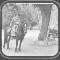 Reginaldo Ruiz on Horseback