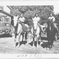 Sanchez Ladies on Horseback