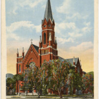 Santa Clara Church, Oxnard postcard