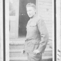 Max Riave in Army Uniform