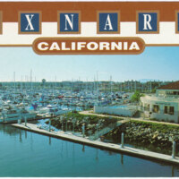 Channel Islands Harbor postcard