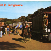 TV Thriller at Corriganville postcard