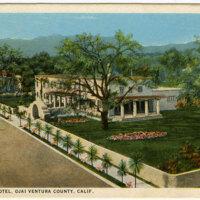 El Roblar Hotel Postcard