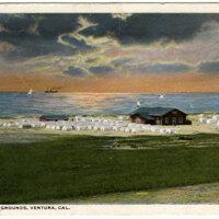 Chautauqua Grounds Postcard