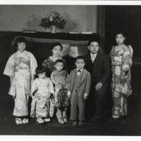 Tom Kurihara Family Portrait, 1930