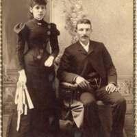 John Hughes and Jennie Rivera Wedding Portrait