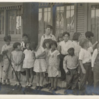 Group Photo, Palm Street Kindergarten, ca. 1930