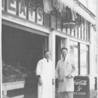 Max Riave in Front of Camarillo Mercantile