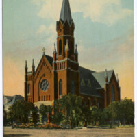 Catholic Church, Oxnard postcard