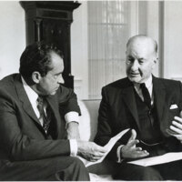 Richard Nixon and Congressman Charles Teague