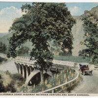 """The Rincon"" California Coast Highway Between Ventura and Santa Barbara Post Card"