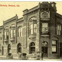 Bank of Ventura post card