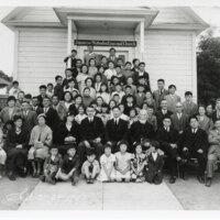 Japanese Methodist Church Group Photo