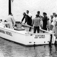 Ventura Harbor Marina Patrol Boat