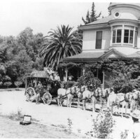 Group Photo in Front of Camarillo Residence