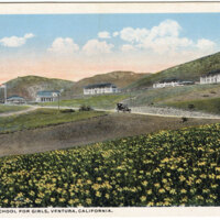 California State School for Girls, Ventura, Cal. postcard