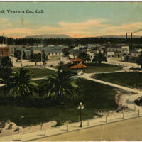 Plaza-Oxnard, Ventura Co Postcard