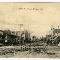 Main St. postcard