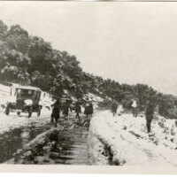 Snowy Ventura Street Scene