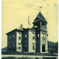 Hill School post card