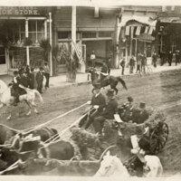President Theodore Roosevelt, Main Street in Ventura, 1903