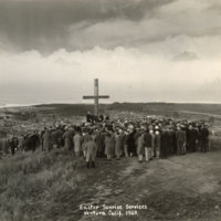 Cross on Hill, Easter Services