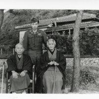 John Takasugi With His Grandparents