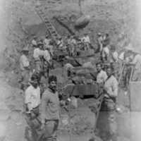 Mexican Construction Crew at Casitas Dam