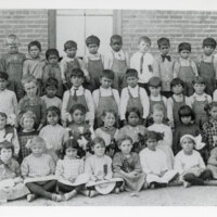 Group Photo of Hill School Students