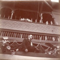 President William McKinley at Plaza School