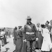 H. P. Flint Jr. in Military Uniform