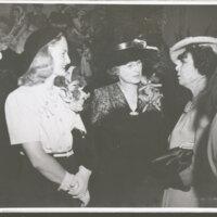 Katherine Hoffman and Edith Hobson Hoffman