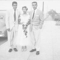 John, Viola, and Amador De La Rosa Ready For a Wedding