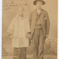 Chinese bride and groom