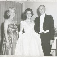 Katherine, Andrea and Robert Haley