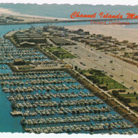 Channel Islands Marina postcard