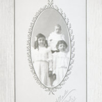 Baby Gabriel with Sisters Ruth M. and Lucy V. Ruiz