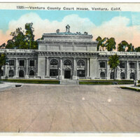 Ventura County Courthouse Postcard