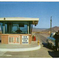 United States Naval Air Missile Test Center, Point Mugu postcard