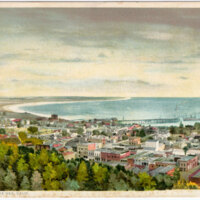 Ventura By The Sea, Calif. post card