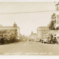 Main Street, Ventura Post Card