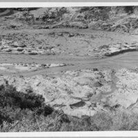 St. Francis Dam lake bottom