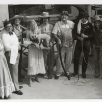 Museum of Ventura County Employees in Costumes