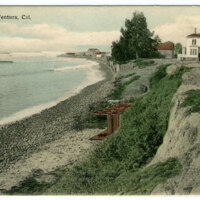 Breakers on Ventura Coast Postcard