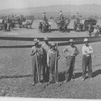 Bean Threshing on Deidrick Ranch