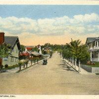 Fir Street postcard